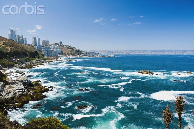 Vina Del Mar Chile  city images : Coast of Vina Del Mar in Chile